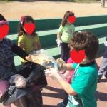 Καθαρισμός προαυλίου χώρου κοινότητας Ν. Φώκαιας